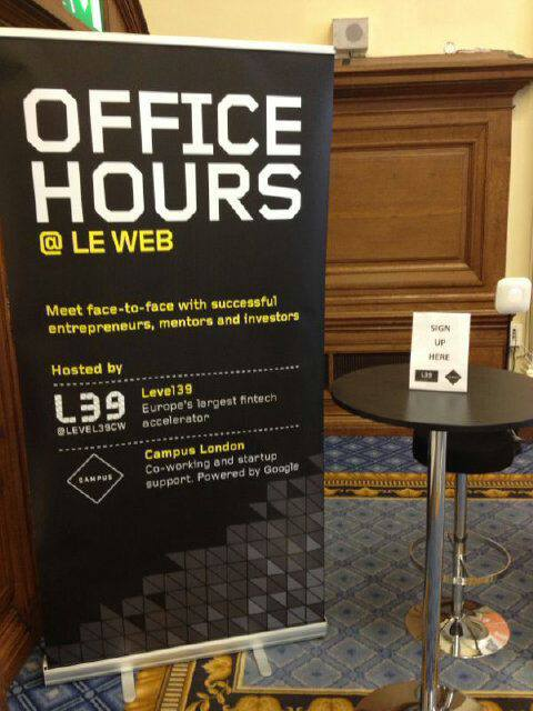 Level39 Office Hours
