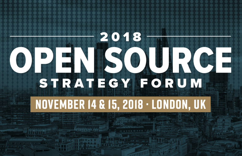 Open Source Strategy Forum 2018 (External) - Level39