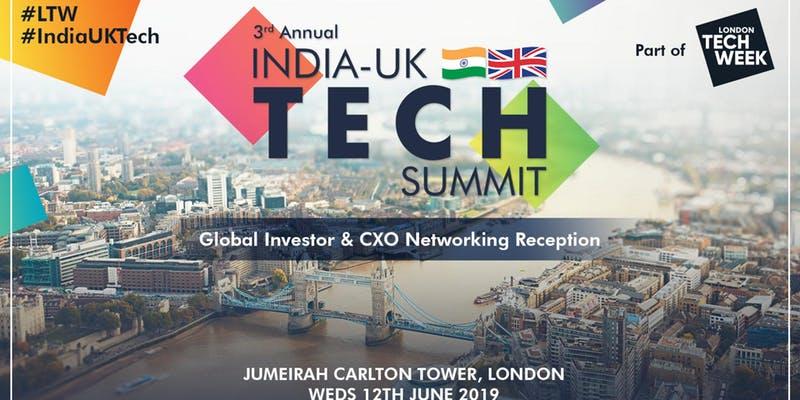 London Tech Week: India-UK Tech Summit (external event) - Level39